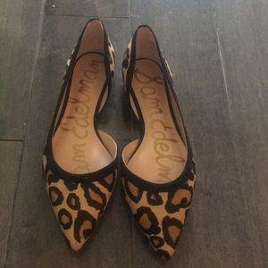 Same Edelman leopard flats